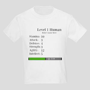 Level 1 Human [Personalize] T-Shirt